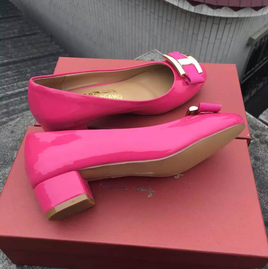 Ferragamo Ninna Pump Rose